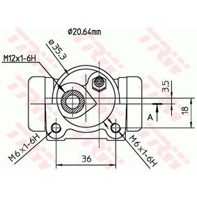 TRW Radbremszylinder 7701035311 für RENAULT, RENAULT TRUCKS bestellen