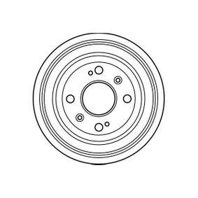 Комплект феродо за накладки барабанни спирачки DB4118 TRW