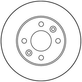 TRW RENAULT CLIO Bremsscheiben (DF1013)