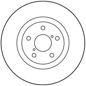 TRW Bremsscheibe 26300FE010 für SUBARU, BEDFORD bestellen