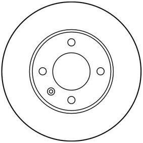 TRW Bremsscheibe 6N0615301G für VW, AUDI, SKODA, SEAT bestellen