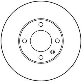 TRW Bremsscheibe 823615301 für VW, AUDI, SKODA, SEAT, PORSCHE bestellen