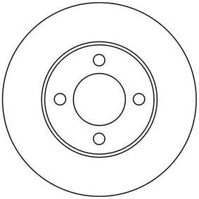 TRW Bremsscheibe 431615301 für VW, AUDI, SKODA, SEAT, PORSCHE bestellen