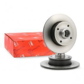 TRW Bremsscheibe 357615601 für VW, AUDI, SKODA, SEAT, PORSCHE bestellen