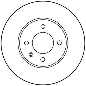 TRW Bremsscheibe 357615301D für VW, AUDI, SKODA, SEAT bestellen