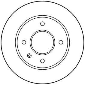 TRW Bremsscheibe 6100043 für FORD bestellen