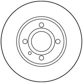 TRW Bremsscheibe 60514881 für FIAT, ALFA ROMEO bestellen