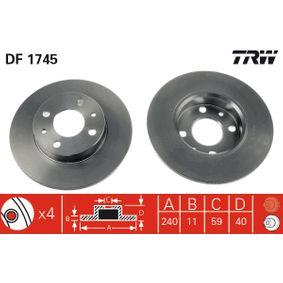 TRW Repair kit, gear lever (DF1745)