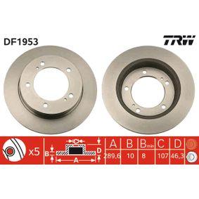 TRW Disco de freno DF1953
