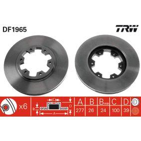 Bremsscheibe TRW Art.No - DF1965 kaufen