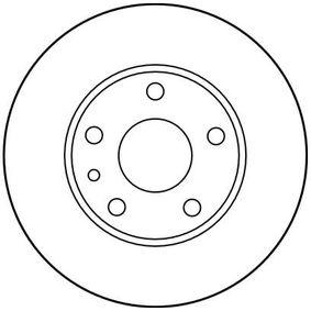 TRW Bremsscheibe 60670804 für FIAT, ALFA ROMEO bestellen