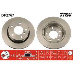 TRW Bremsscheibe (DF2767) niedriger Preis
