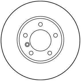TRW Bremsscheibe 1163081 für BMW bestellen