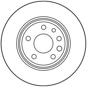 TRW Bremsscheibe 4839338 für OPEL, CHEVROLET, SAAB, ISUZU, CADILLAC bestellen