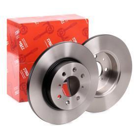 25 Хечбек (RF) TRW Спирачен диск DF2792