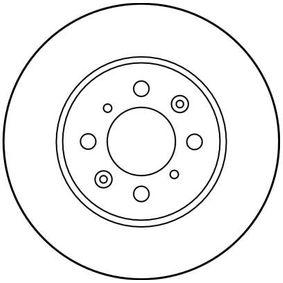 TRW ROVER 25 Спирачен диск (DF2792)