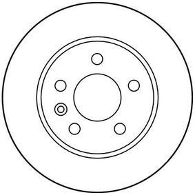 TRW Bremsscheibe A6384210112 für MERCEDES-BENZ bestellen