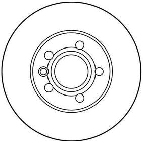 TRW Bremsscheibe 7D0615301A für VW, AUDI, SKODA, SEAT, PORSCHE bestellen