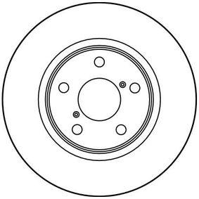 TRW Bremsscheibe 26300AE040 für SUBARU, BEDFORD bestellen