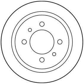 TRW Bremsscheibe 4320658Y02 für NISSAN, INFINITI bestellen