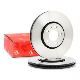 1J0615301C für VW, AUDI, SKODA, SEAT, PORSCHE, Bremsscheibe TRW (DF4027) Online-Shop