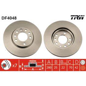 TRW Bremsscheibe (DF4048) niedriger Preis