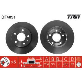 TRW Bremsscheibe (DF4051) niedriger Preis
