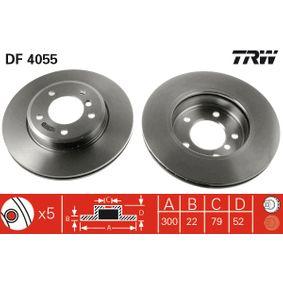 TRW Bremsscheibe (DF4055) niedriger Preis