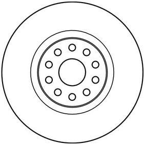 TRW Disc frana punte fata, Ř: 310mm, ventilat, lacuit 3322937268931 nota