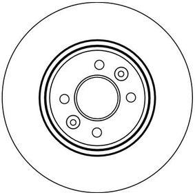 Bremsscheiben TRW (DF4110) für RENAULT SCÉNIC Preise