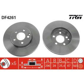 TRW MERCEDES-BENZ E-osztály Tolatólámpa izzó (DF4261)