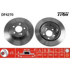 TRW MERCEDES-BENZ E-osztály Tolatólámpa izzó (DF4270)