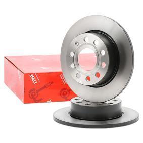 1K0615601AB für VW, AUDI, SKODA, MAZDA, SEAT, Bremsscheibe TRW (DF4276) Online-Shop
