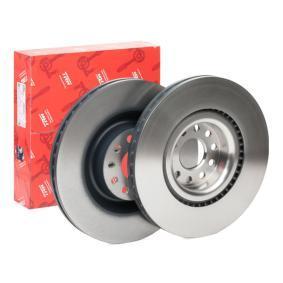 Спирачен диск TRW Art.No - DF4350S OEM: 1K0615301AB за VW, AUDI, SKODA, SEAT купете