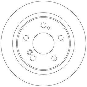 TRW Bremsscheibe 2104230812 für MERCEDES-BENZ, MAZDA, CHRYSLER bestellen