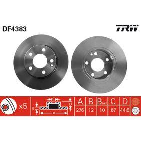 TRW Bremsscheibe (DF4383) niedriger Preis