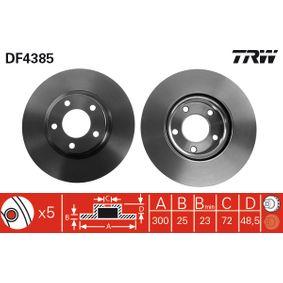 TRW Filtro de aire DF4385