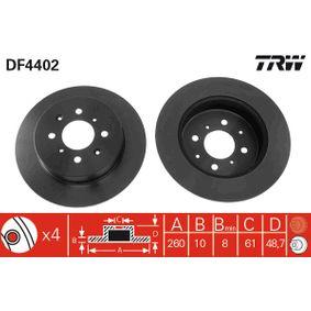 TRW Filtro de aire motor DF4402