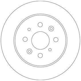Elemento filtro de aire DF4402 TRW