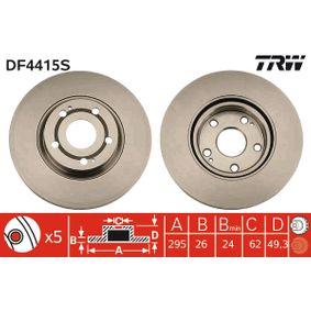 TRW Bremsscheibe (DF4415S) niedriger Preis
