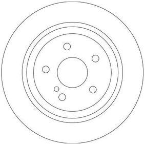 TRW Bremsscheibe 220423021264 für MERCEDES-BENZ, DAIMLER bestellen