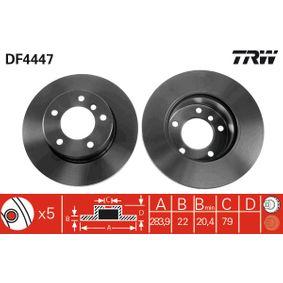 TRW Bremsscheibe (DF4447) niedriger Preis