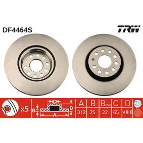 TRW Disc frana (DF4464S) la un preț favorabil
