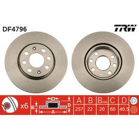 TRW Interruptor de elevalunas (DF4796)