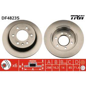 TRW VW CRAFTER Bremsscheiben (DF4823S)