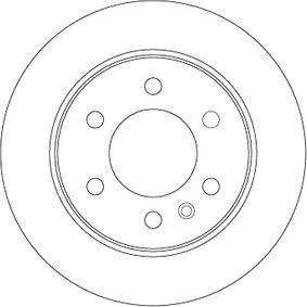 Bremsscheiben TRW (DF4823S) für VW CRAFTER Preise