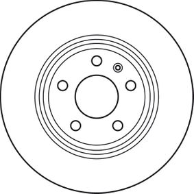 TRW Bremsscheibe DF4848