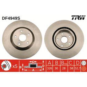 TRW Bremsscheibe DF4949S