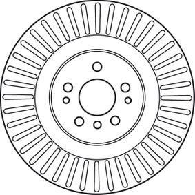 TRW Спирачен диск 1644210512 за MERCEDES-BENZ купете