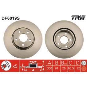 TRW Bremsscheibe DF6019S